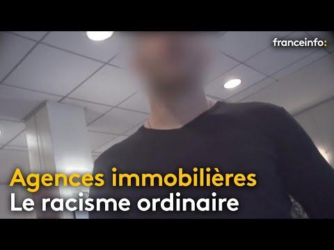 Racisme ordinaire dans les agences immobilières - franceinfo: