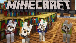 Minecraft: Zoo Keeper - Wolf Pack & HQ Updates Ep. 16 Dragon Mounts, Mo
