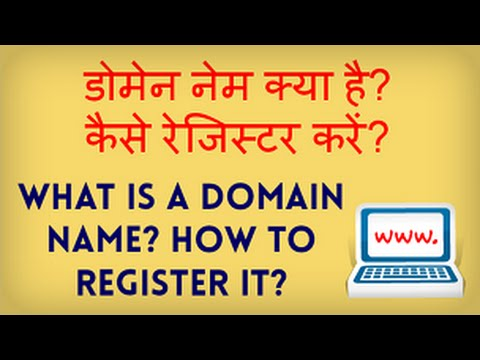 What is a Domain Name? How to register a Domain Name? Hindi video by Kya Kaise
