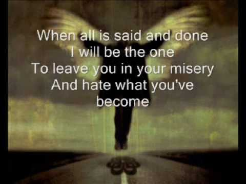 Breaking Benjamin Had Enough (Lyrics on screen)