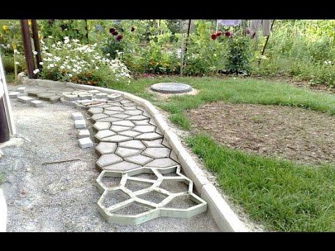 Купить формы для изготовления тротуарной плитки в Самаре - YouTube