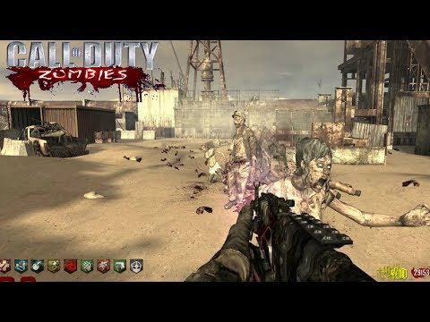 MW2 RUST CUSTOM ZOMBIES REMAKE | CALL OF DUTY: WORLD AT WAR ZOMBIES