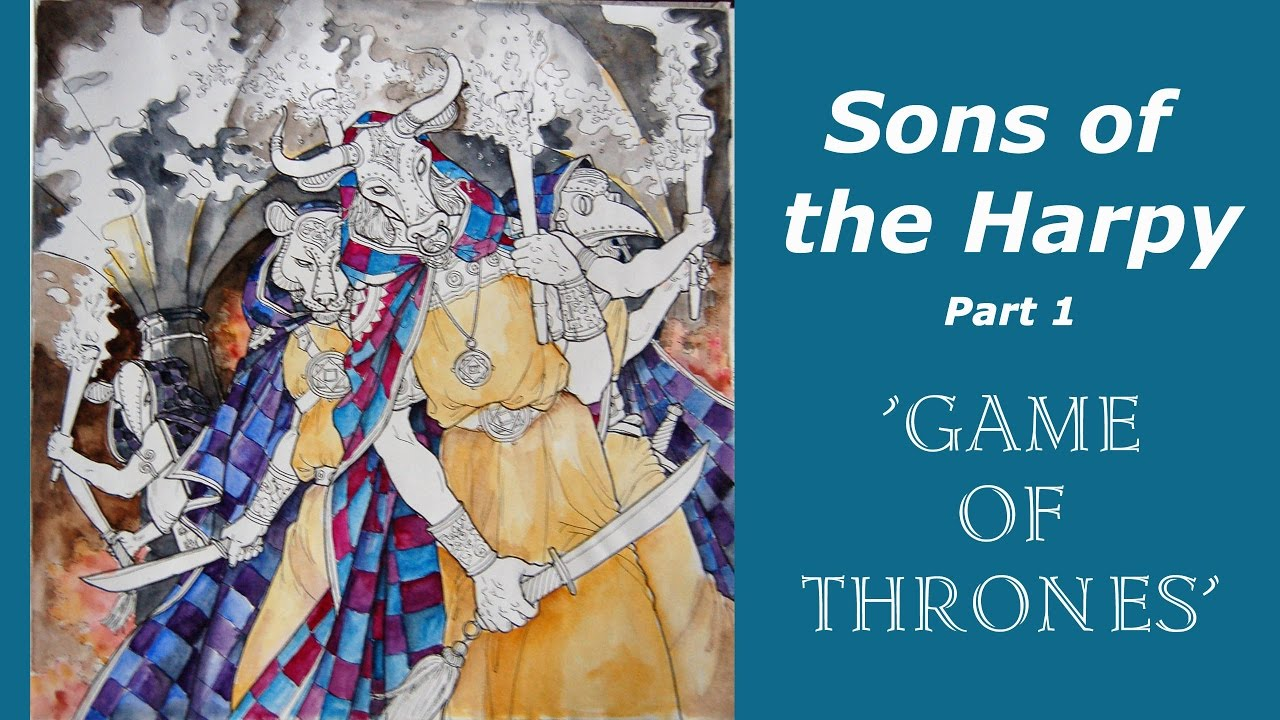 """Coloring """"The Game of Thrones' - Sons of the Harpy. Part 1 ..."""