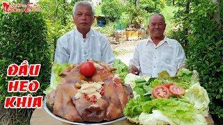 Ông 5 Châu Đốc Làm Món Đầu Heo Khìa Nước Dừa Miền Tây Chiêu Đãi Khách   NKGĐ