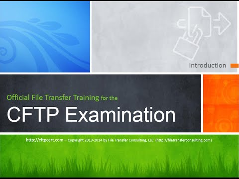 Managed File Transfer Training and Certification (CFTP)