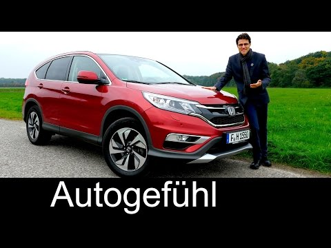 Honda CR-V Facelift FULL REVIEW test driven compact SUV 2016