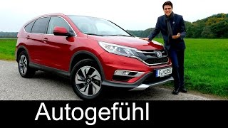 Honda CR-V Facelift FULL REVIEW test driven compact SUV 2016 - Autogefühl