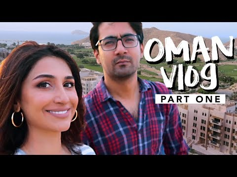 Vlog 04 // MY OMAN TRIP (Part 1) | New Airport, Grocery Run, Scenic Beauty