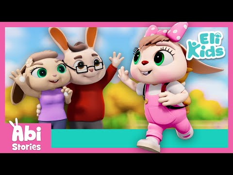 Abi At School | Abi Stories Compilation | Eli Kids Educational Cartoon