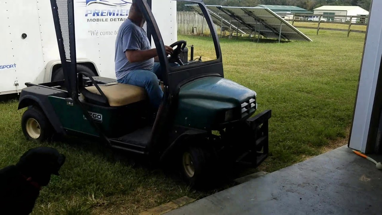 medium resolution of completed gas engine replacement ez go golf cart