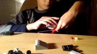 Как сделать истребитель из LEGO