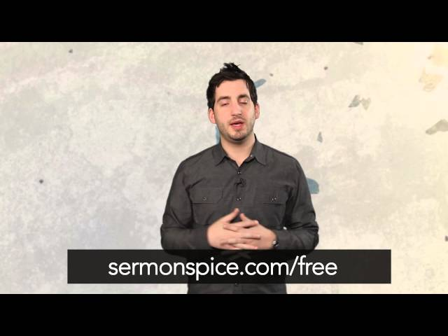 Featured Video of the Week - Free Monthly Sermon Illustrations!