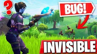 I MAKE INVISIBLE WITH A BUG AND TROLLEO PEOPLE IN FORTNITE! - Roier