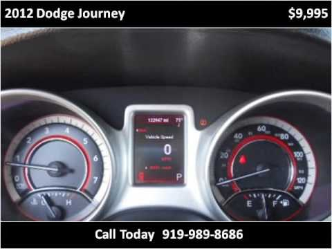 2012 dodge journey used cars smithfield nc youtube for Boykin motors smithfield nc