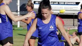 Amy Catterall a Senior Constable and also VFLW Coach