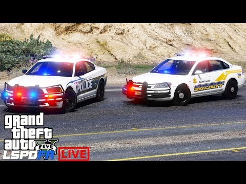 GTA 5 LSPDFR Police Mod 485 | Live Stream As The Los Santos Police & Blaine County Sheriff Office