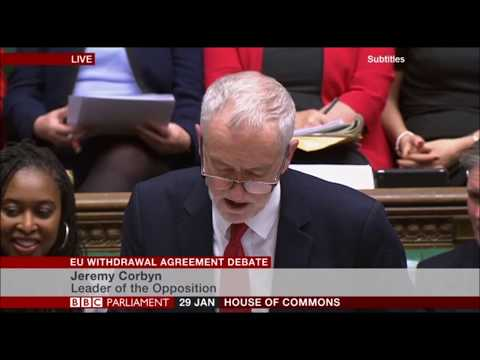 Jeremy Corbyn humiliates Michael Gove during EU Withdrawal Agreement Debate
