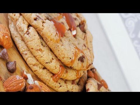 cookie-façon-mie-caline-chocolat-praliné-amande-inratable-et-tellement-bon😍😍