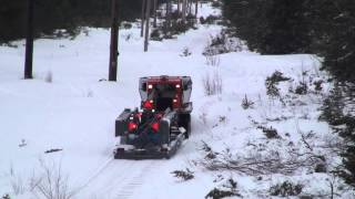 Dubie Groomer Pulled By Tucker Snow Cat ,