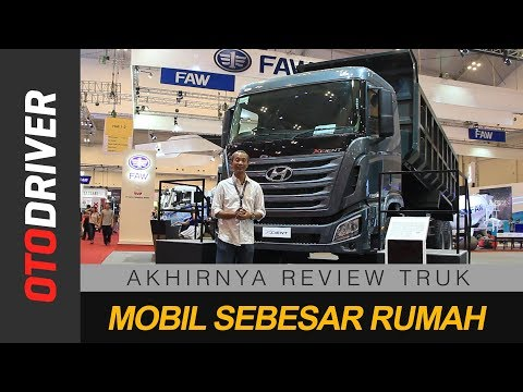 Hyundai Xcient 6x4 2018 Indonesia First Impression OtoDriver