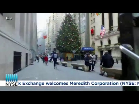 Meredith Corporation Rings the NYSE Closing Bell.