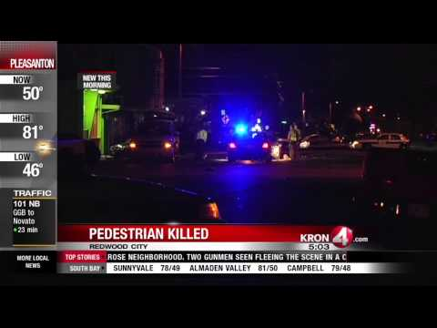 Pedestrian Killed Monday Morning in Redwood City