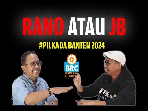 RAMALAN PILKADA BANTEN 2024 ALA ASEP RAHMATULLAH -- #MEJAREDAKSI BANTEN RAYA #BantenRayaChannel
