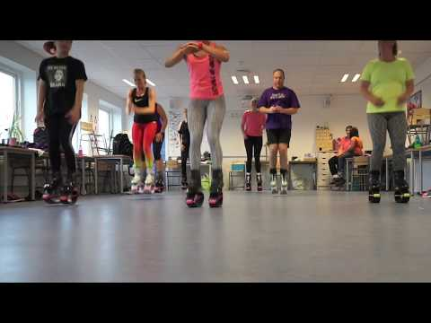 Kangoo Jumps class with Noemi Copenhagen