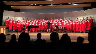 """Desh""  as sung by the Ferris High School Symphonic Choir"
