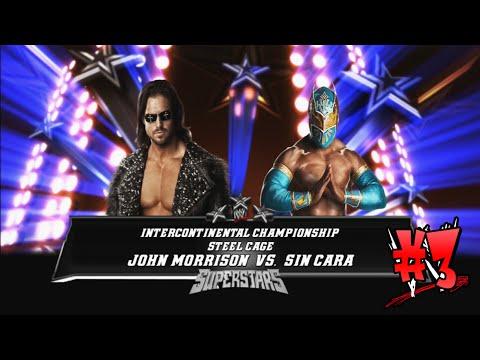 Steel Cage Match - John Morrison vs Sin Cara - Full (WWE 2012)