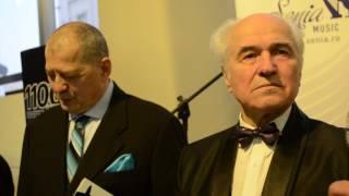 Generalul Chelaru Mircia vorbind despre compozitorul român Eugen Doga