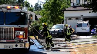 Surrey multiple house fire 148A St