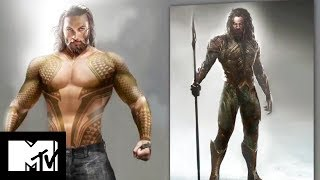Unveiling Jason Momoa's Aquaman Buff Body – A Justice League Exclusive | MTV Movies