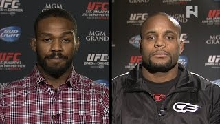 UFC 182: Jon Jones and Daniel Cormier Speak Ahead of Grudge Match