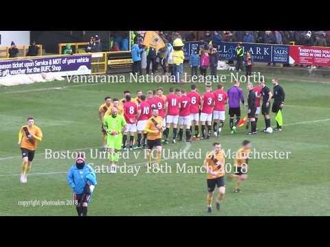 Boston United v FC United of Manchester Highlights 17032018