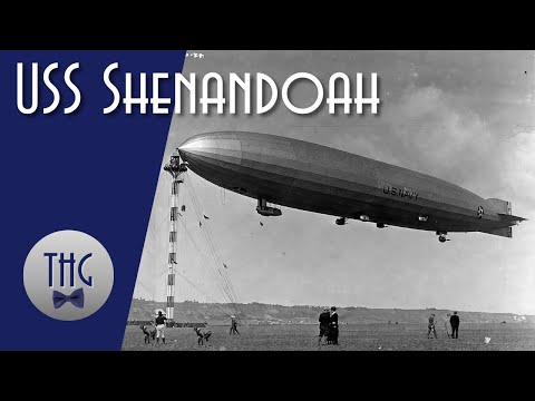 The First American-built Rigid Airship, USS Shenandoah