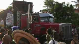 "Carnival 2012 St Maarten - Jouvay / Jouvert Morning ""Jump Up"" Parade"