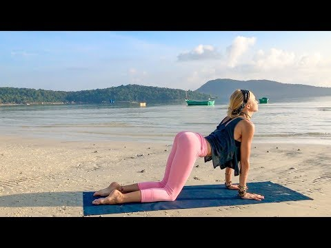 Yoga For Your Back ♥ Strength, Recover,  & Tone | Cambodia
