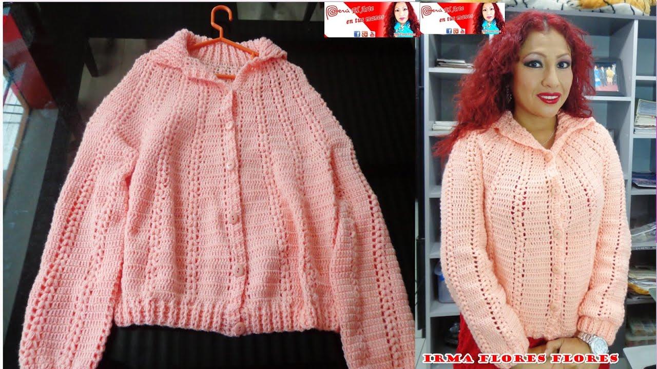 Aprende a tejer chompa su ter o jersey f cil de realizar - Jerseys faciles de hacer ...