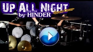 Up All Night - Hinder - Drum Cover