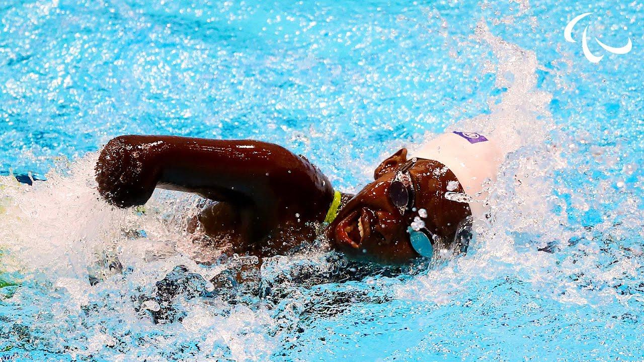 Download The 13 Year Old Ugandan Swimming Star | Husnah Kukundakwe | Para Swimming | Paralympic Games