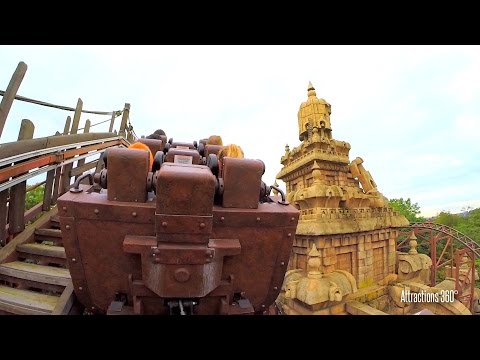 Indiana Jones Roller Coaster Ride - Disneyland Paris - Indiana Jones et le Temple du Péril