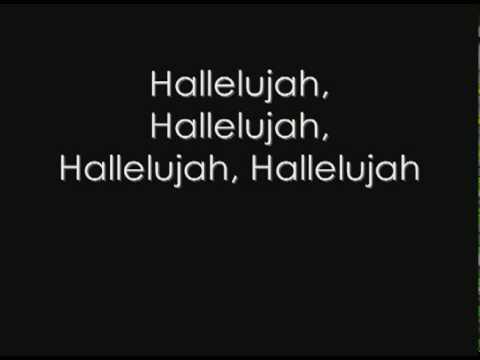 Hallelujah - Kate Voegele (with lyrics)