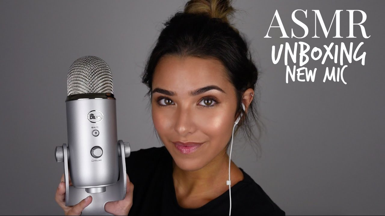 ASMR Unboxing Blue Yeti/New Microphone