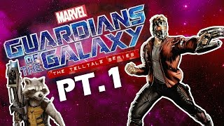 Guardians of the Galaxy Telltale Series Let's Play - Screen Time