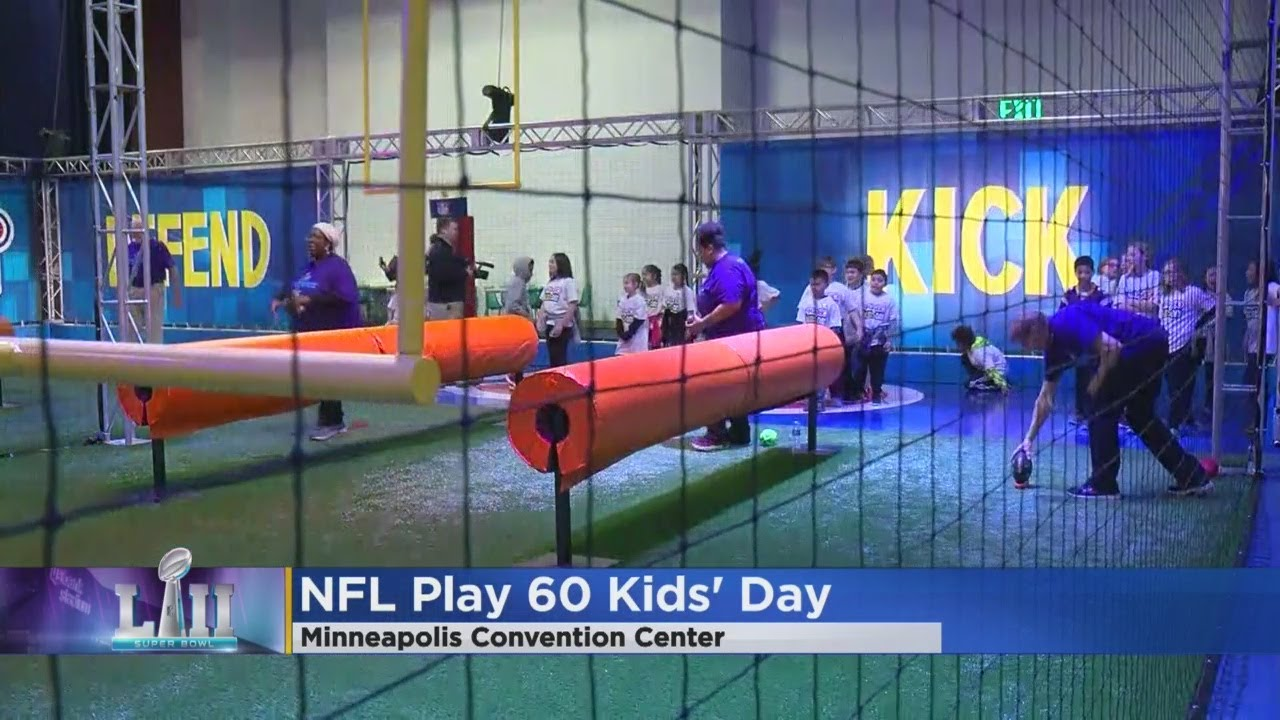 1bc44bb8b It s NFL Play 60 Kids  Day! - YouTube