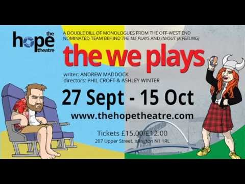 The We Plays: Cyprus Sunsets  The Hope Theatre  Sept 27th  Oct 15th