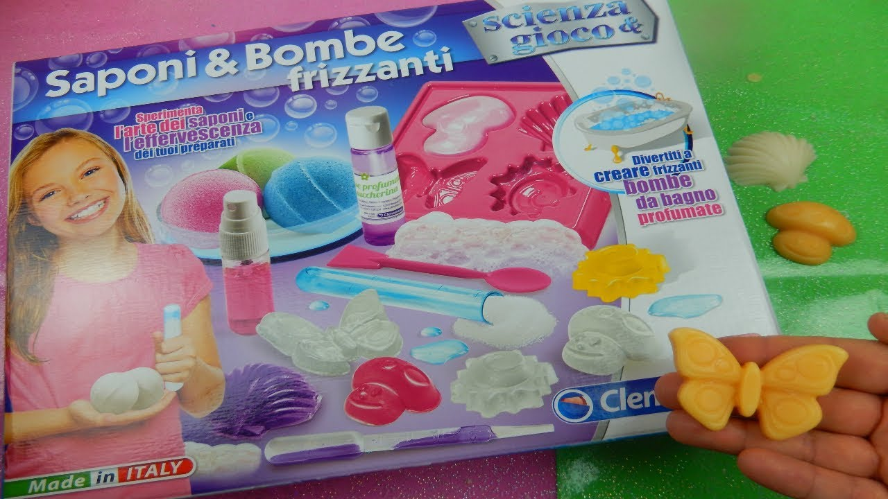 Provo kit per fare saponi e bombe da bagno comprato da - Bombe da bagno effervescenti ...