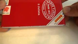 Romeo Y Julieta Julietas Cuban Cigar Box Review