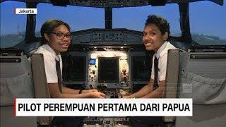 Pilot Perempuan Pertama dari Papua